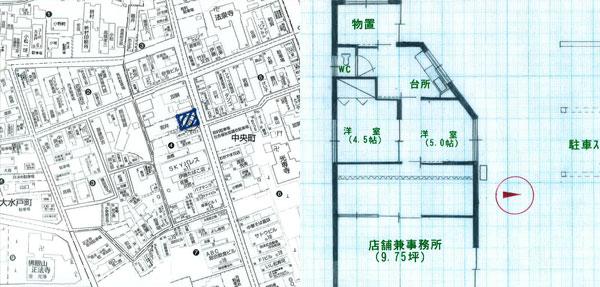 岩井テナント1階